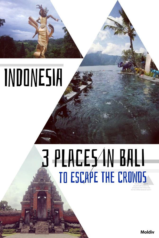 3 places in Bali to escape the crowds!